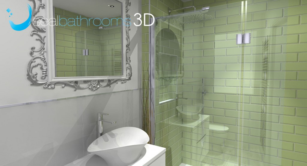 Bathroom En suite Shower Room Renovation in Tolworth Seal Bathrooms