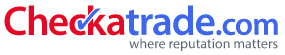 Checkatrade Logo - Where reputation matters