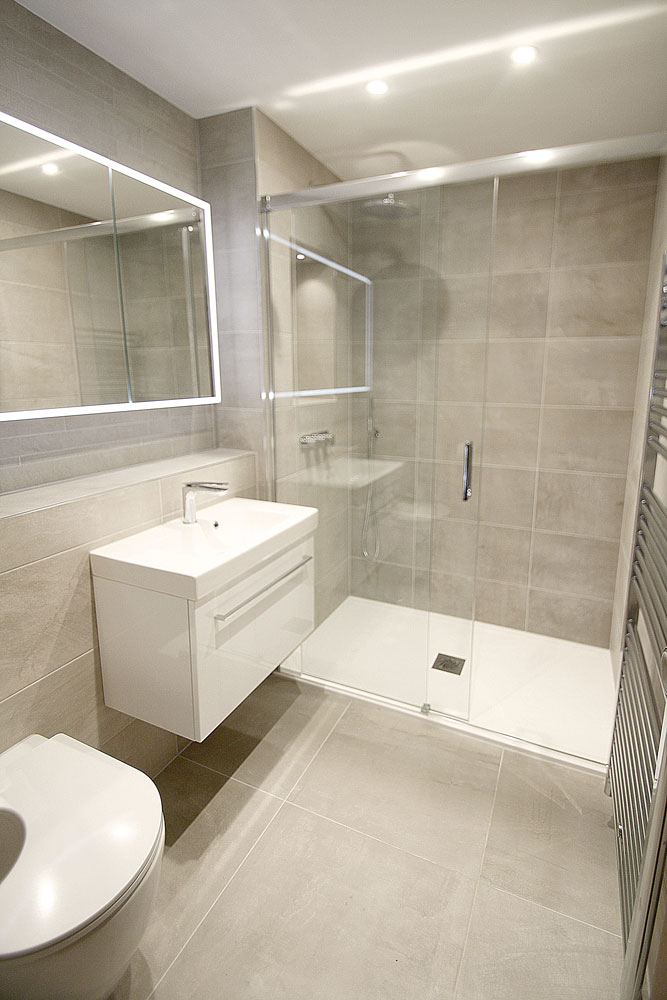 shower room and cloakroom wc design and installation in